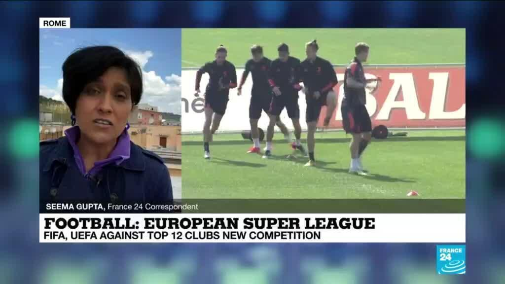 2021-04-19 12:12 Juventus, Manchester United say 12 European top clubs agreed to establish Super League
