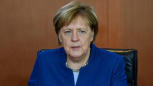 المستشارة الألمانية أنغيلا ميركل.