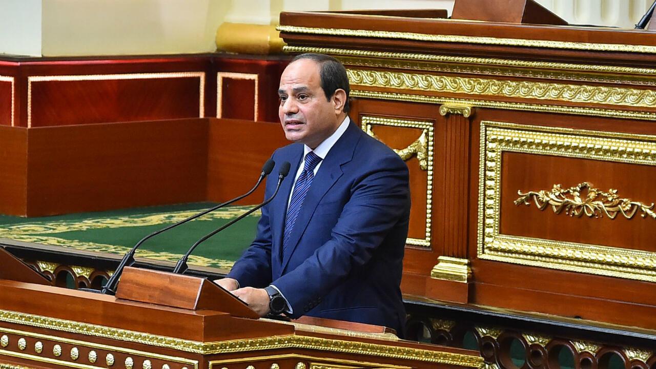 عبد الفتاح السيسي - صورة نشرتها الرئاسة المصرية في 2 يوليو/تموز 2018