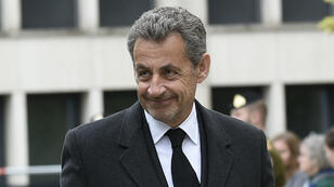 L'ancien président français Nicolas Sarkozy au Luxembourg, le 4 mai 2019.
