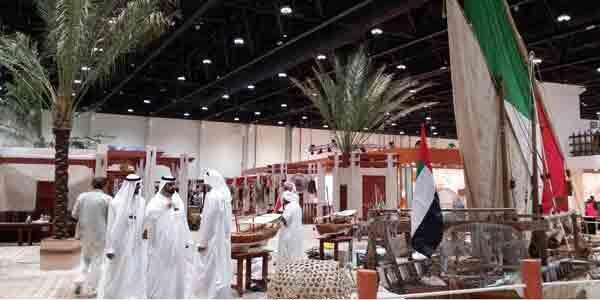 صورة عن معرض أبو ظبي للفروسية والصيد. ملكية كركود/فرانس 24.