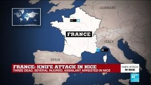 2020-10-29 13:03 Analysis: French terror attacks appear linked, but not coordinated