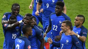 Victorieuse de l'Islande, la France s'est offert le droit de défier l'Allemagne en demi-finale de l'Euro-2016.