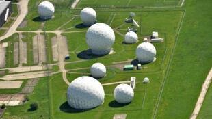 Des installations radars des services secrets allemands en Bavière (sud de l'Allemagne).