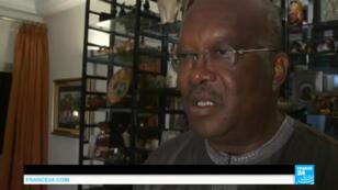 Roch Marc Kaboré se dit fier de s'être vu confier la tâche de président de la République du Burkina Faso.