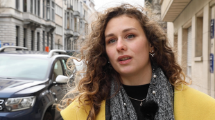 Noemi, a young Macedonian woman, has been living in Brussels for the past few weeks. Like her, a quarter of the population is estimated to have left the country in the past ten years.