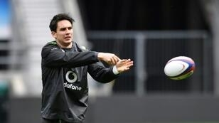 Munster fly-half Joey Carbery (pictured March 2018) feasted on a personal haul of 26 points -- including two of his team's five tries