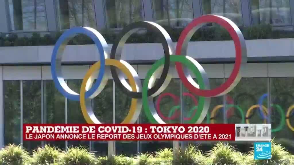 2020-03-24 14:00 Les Jeux Olympiques Tokyo 2020 officiellement reportés en raison du coronavirus