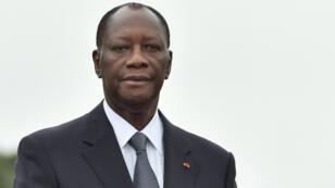Le président ivoirien Alassane Ouattara.