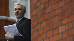 Julian Assange est réfugié dans l'ambassade d'Équateur à Londres depuis 2012