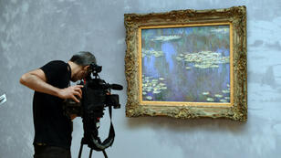 "Monet paintings, including his 1905 oil ""Nymphéas"", fetched a total of $115 million."