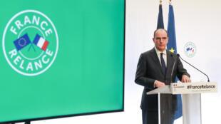 Le Premier ministre français, Jean Castex, le 3 septembre 2020, à Paris.