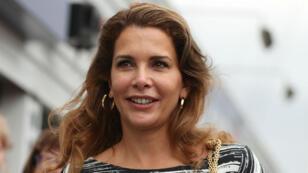 La princesse, fille de l'ancien roi Hussein de Jordanie, a trouvé refuge à Londres.