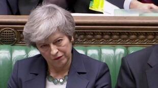 تيريزا ماي مجلس النواب البريطاني - 13 مارس/آذار 2019
