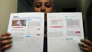 Nebila Abdulmelik, la militante à l'origine de la pétition