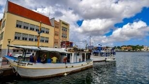 The quiet island of Curacao lies near the coast of Venezuela but seems a world away from that country's violence and poverty
