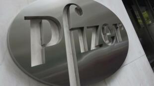 La sede de la farmacéutica Pfizer en Nueva York, en una imagen del 27 de abril de 2016