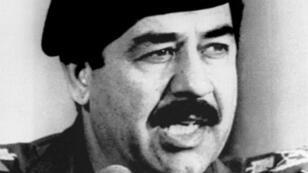 الرئيس العراقي الراحل صدام حسين.