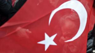 Photo d'archive montrant un drapeau turc.