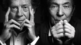 Hédi Kaddour (gauche) et Boualem Sansal (droite) ont reçu ex æquo pour le Grand Prix du roman de l'Académie française