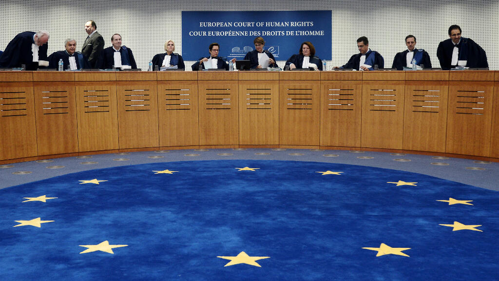 Les juges de la CEDH avant une audience le 14 octobre 2014 à Strasbourg.