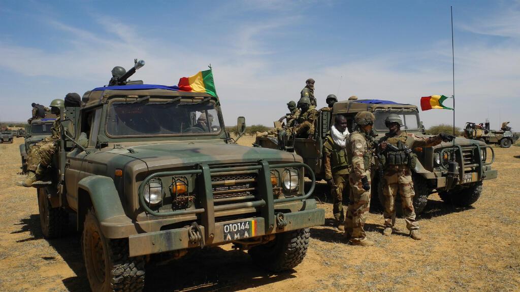 Des soldats de l'armée malienne, en novembre 2017.