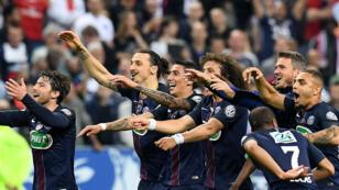 Le PSG a remporté la dixième Coupe de France de son histoire.