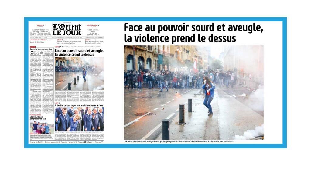 Violents affrontements à Beyrtouth, au Liban