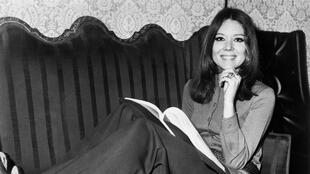 British actress Diana Rigg in London in January 1970.