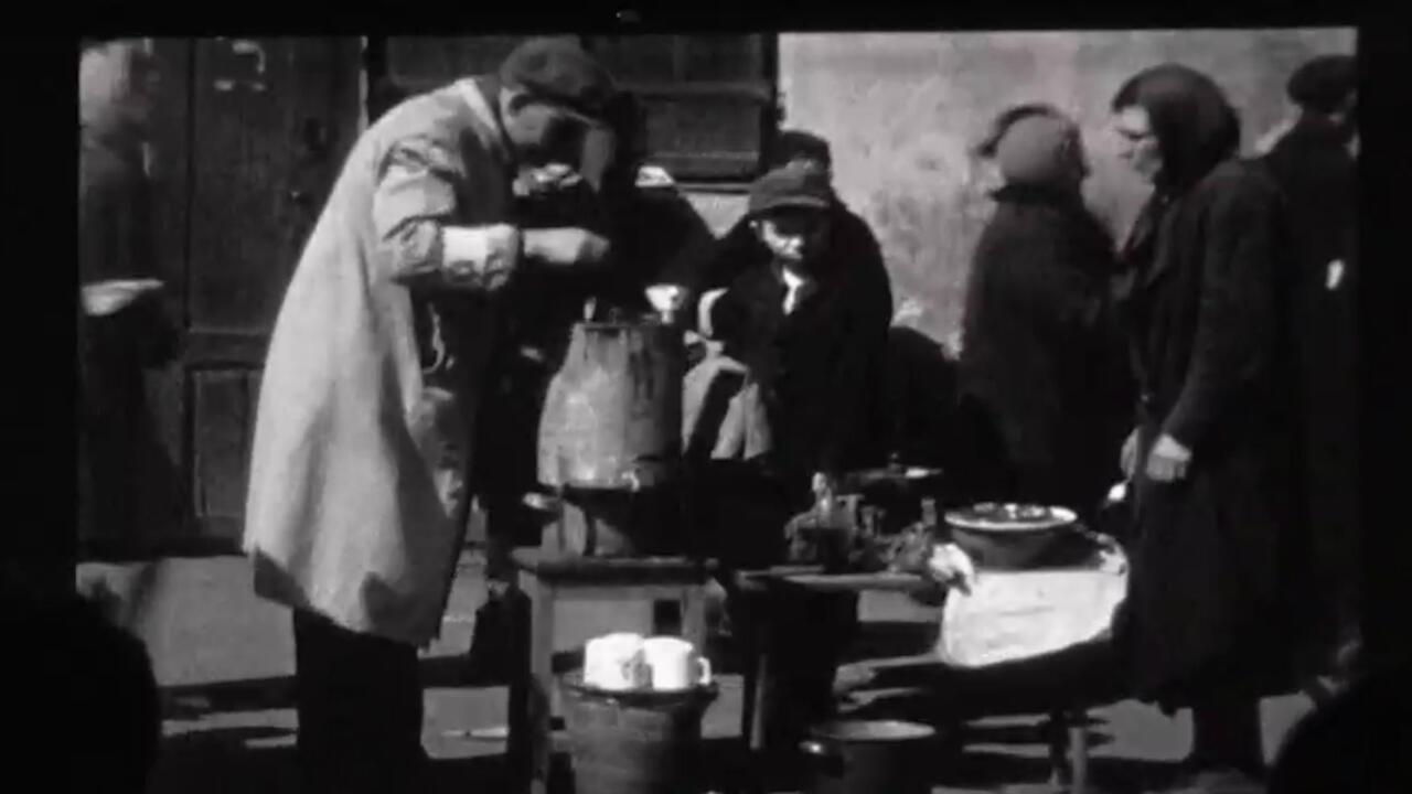 Ces images ont été tournées en 1941 par un cinéaste amateur.