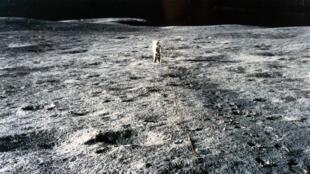 Apollo 14, troisième équipage ayant réussi une mission d'alunissage.