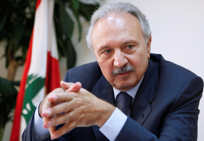 وزير الاقتصاد والتجارة اللبناني السابق محمد الصفدي، يتحدث خلال قمة رويترز للاستثمار في الشرق الأوسط في بيروت، 20 أكتوبر/ تشرين الأول 2010.