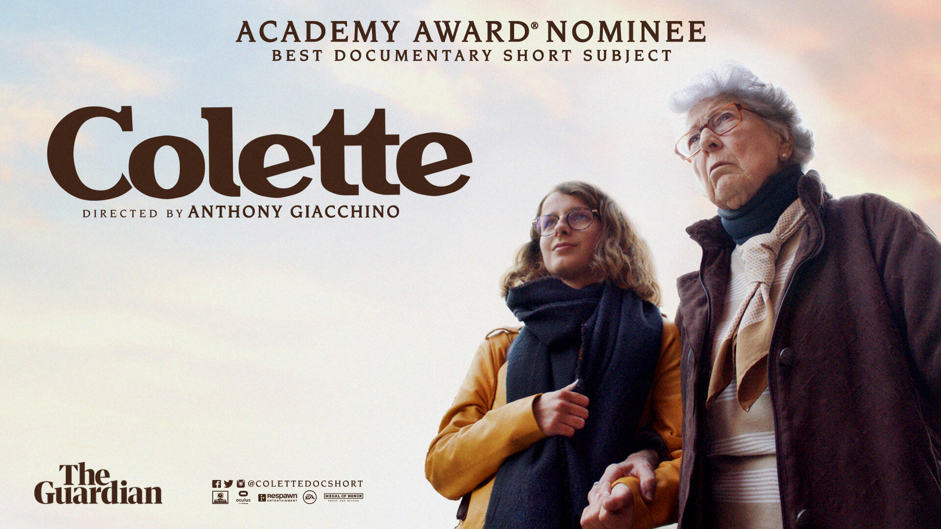 """L'affiche du court-métrage documentaire """"Colette""""."""