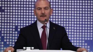 Süleyman Soylu, à Ankara, le 3 octobre 2019.
