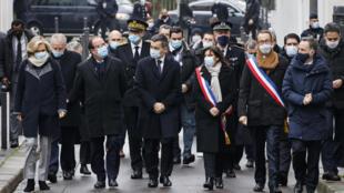 hommage victimes attaques de janvier 2015