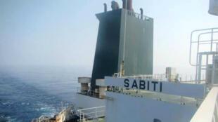 Image du tanker iranien Sabiti naviguant sur la mer Rouge (photo non datée).