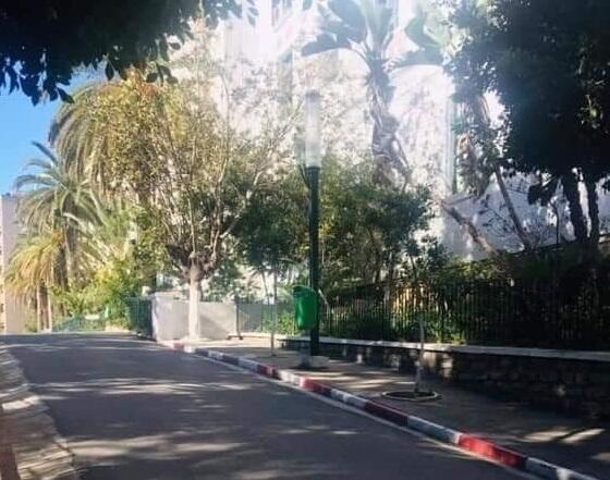 جامعة الجزائر المركزية خاوية من الطلبة - صورة منشورة على موقع يومية الخبر الجزائرية