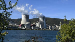 The Cruas nuclear plant in the department of Ardèche in southeastern France.
