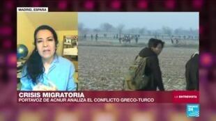 La entrevista Acnur España