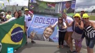 يوم تاريخي بالنسبة لمناصري الرئيس البرازيلي الجديد جايير بولسونارو.