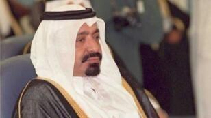 أمير قطر الأسبق خليفة بن حمد آل ثاني في 1988