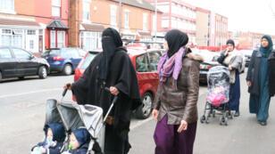 Des femmes du quartier Small Heath, à très grande majorité musulmane, de Birmingham.
