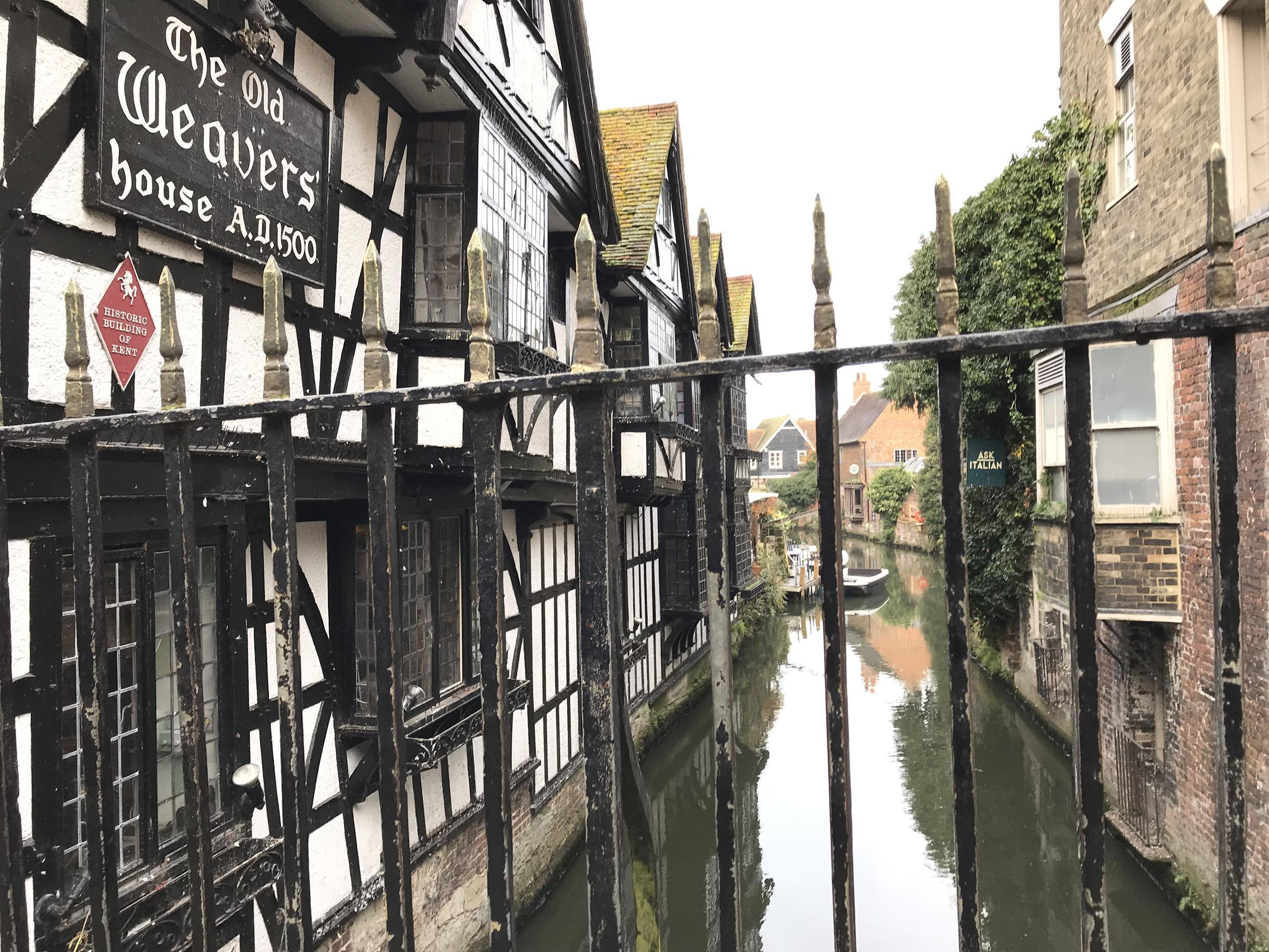 The River Stour runs through the centre of Canterbury which hosts three universities and a student population largely responsible for unseating the town's former Tory MP.