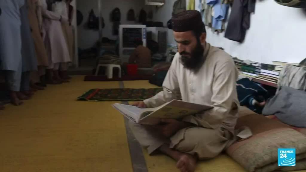 La mayoría de los talibanes fueron formados en escuelas coránicas ubicadas en Pakistán.