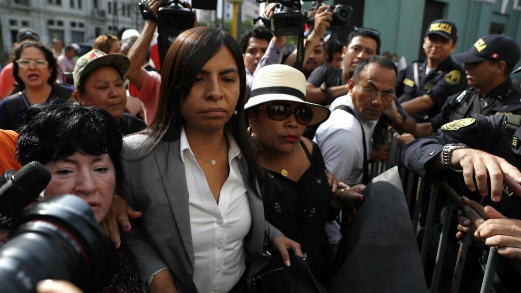 Guilliana Loza, la abogada de Keiko Fujimori, asistió en diciembre de 2019 a un nuevo pedido de prisión preventiva por 36 meses para la política peruana.