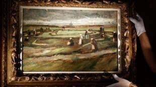 لوحة الفنان فان غوخ التي رسمت عام 1882