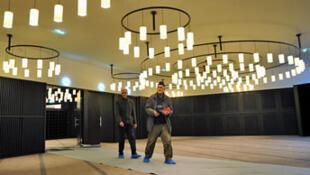 La salle de prière de l'Institut des cultures d'islam