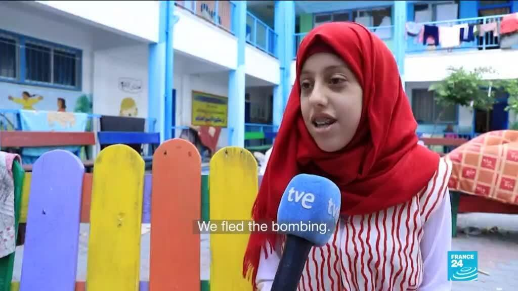 2021-05-19 11:03 In Gaza, UN classrooms become dormitories as Palestinians flee conflict