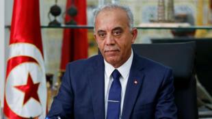 Le Premier ministre tunisien Habib Jemli, le 3 décembre 2019 à Tunis.