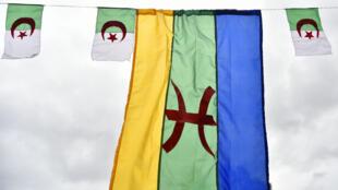 Le Nouvel An berbère, Yennayer, célébré à Ath Mendes au sud de Tizi-Ouzou, en Algérie, le 12 janvier 2018.